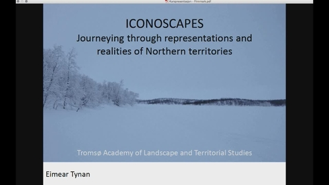 Thumbnail for entry TROMSØ-UL - Iconoscapes