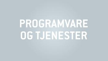 Programvare og Tjenester - Del 1