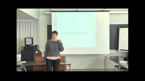 Thumbnail for entry Klyngevejledning 4 - Camilla Schmidt