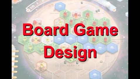 Thumbnail for entry Præsentation: Workshop 13 - Board Game Design