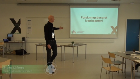 Thumbnail for entry X-Talk: Steen Elsborg - om forskningbaseret iværksætteri