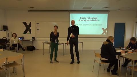 Thumbnail for entry X-Platform: Præsentation af projekter