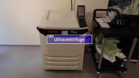 Thumbnail for entry Ultracentrifuge