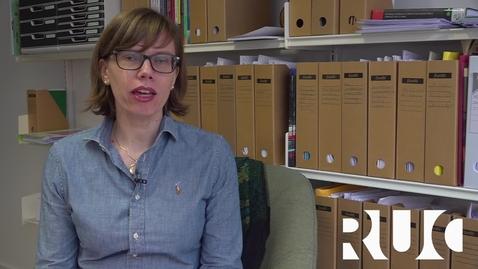 Thumbnail for entry Helene Dyrhauge byder velkommen til 2 semester på SAM BACH