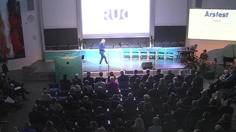 Thumbnail for entry Peter Kjærs tale til RUC's Årsfest 2017