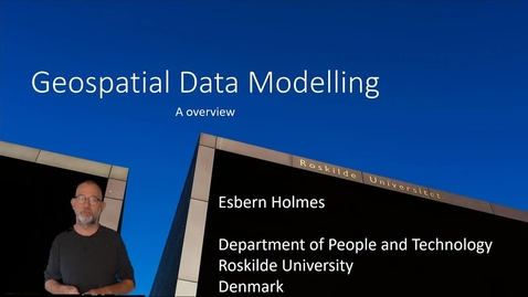 Thumbnail for entry Geospatial Data Modelling