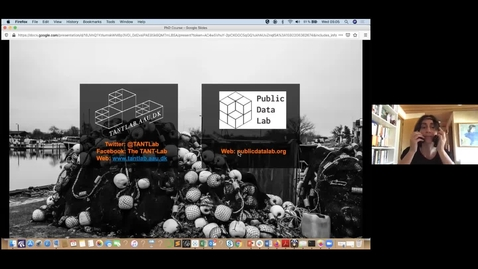 """Thumbnail for entry """"Digital Methods: Relational, Explorative and at the mercy of the medium"""", lecture by Anders Koed Madsen"""