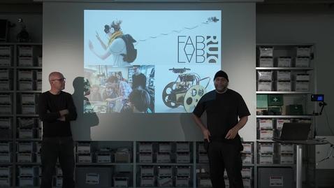 Thumbnail for entry Workshop Presentation Digital Fabrication