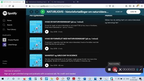 Thumbnail for entry Podcastworkshop (efteråret 2020)