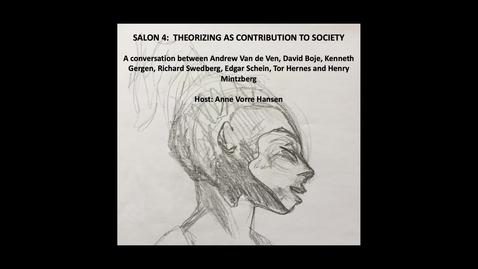 Salon 4: The role of theorizing – establishing a community
