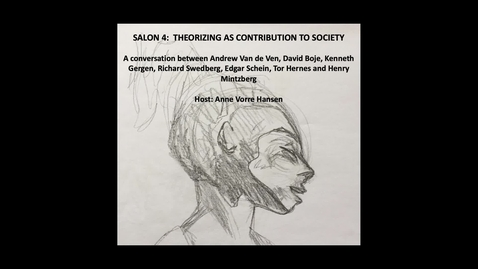 Thumbnail for entry Salon 4: The role of theorizing – establishing a community