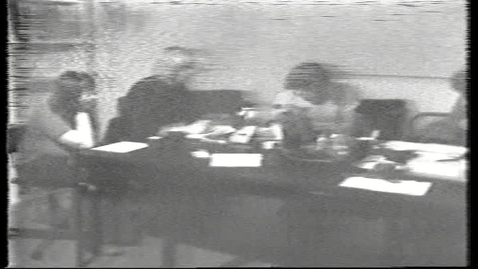 Thumbnail for entry Diskussion i gruppe fra 1977