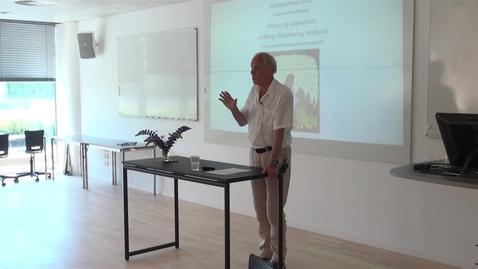 Thumbnail for entry Afskedsforelæsning v. Professor Peter Olsén