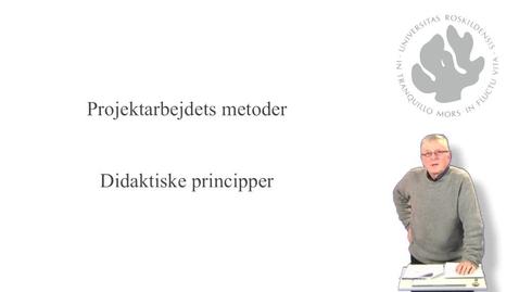 Thumbnail for entry Jørgen Lerche Nielsen om  didaktiske principper for projektarbejde - del 4 af 10