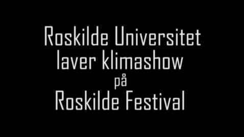 Thumbnail for entry Nattelt Roskildefestival, 2009