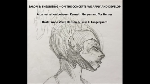 Salon 3: Theorizing on the concepts we apply and develop – or don't we?
