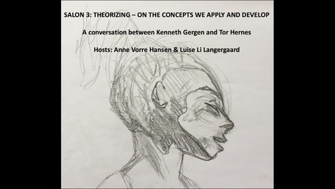 Thumbnail for entry Salon 3: Theorizing on the concepts we apply and develop – or don't we?