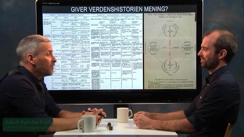 """Thumbnail for entry Samtale med Rune Larsen: """"Giver verdenshistorien mening?"""""""