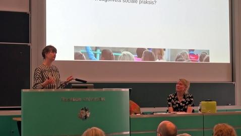 Thumbnail for entry Lærerfaglighed set fra hverdagslivet - Tilde Mardahl-Hansen