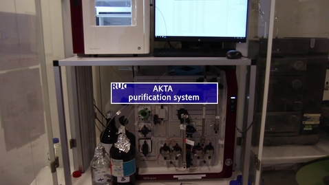 Thumbnail for entry AKTA purification system