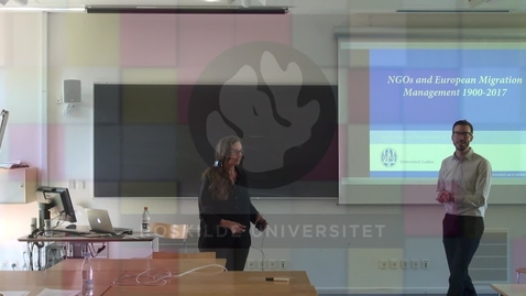 Thumbnail for entry Marlou Schrover on NGOs and European Migration Management