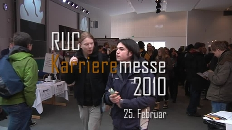 Thumbnail for entry Karrieremessen på RUC, 2010