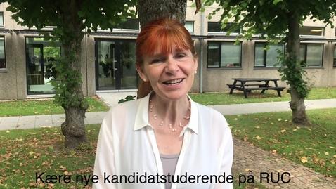 Thumbnail for entry Velkommen til nye kandidatstuderende