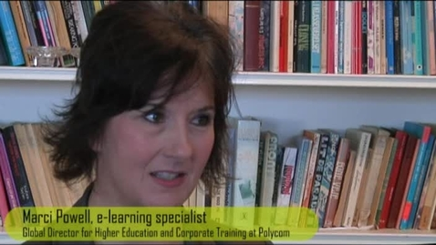 Thumbnail for entry Interview with Marci Powell - Video in education
