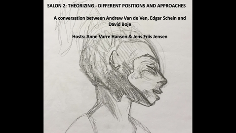 Thumbnail for entry Salon 2: Theorizing: Different positions and approaches