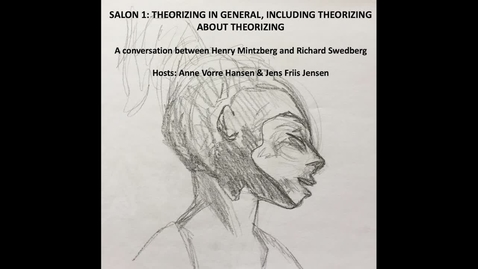 Salon 1: Theorizing in General, including Theorizing about Theorizing