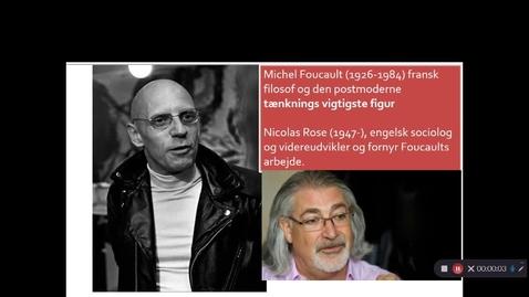 Thumbnail for entry Video 1 Foucaults verden