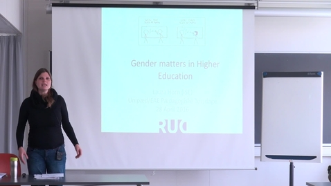 Thumbnail for entry Gender Matters in Higher Society - Laura Horn