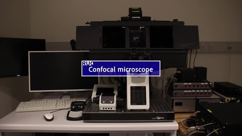 Thumbnail for entry Confocal microscope