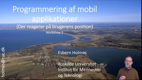 Thumbnail for entry Presentation af workshop 2 humtek Forår 2019