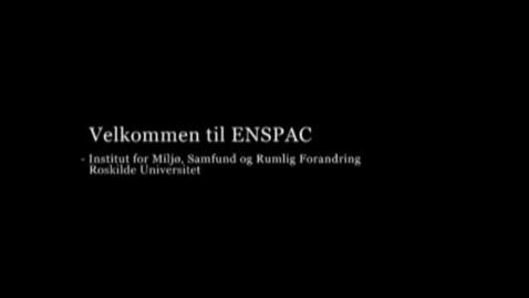 Thumbnail for entry Interviews med studerende på ENSPAC