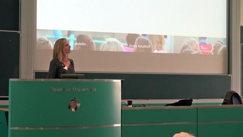 Thumbnail for entry Forældres samarbejde om børns fællesskaber i skolen - Dorte Kousholt
