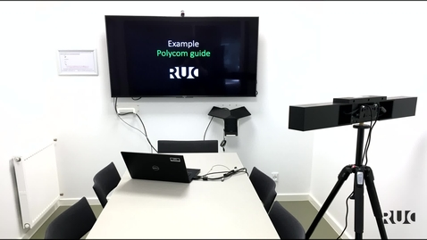 Polycom Videobar Guide (Teams)