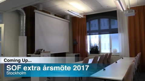 Thumbnail for entry SOF extra årsmöte 2017