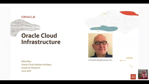 Thumbnail for entry Oracle Cloud Infrastructure