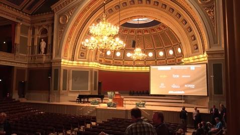 Thumbnail for entry Opening Plenary - NDN2014