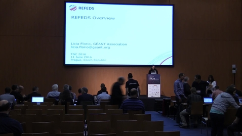 Thumbnail for entry REFEDS (Research and Education Federations)  - Part 1/4