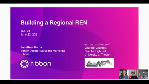 Thumbnail for entry Building a Flexible and HPC-Proof Regional University REN