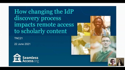 Thumbnail for entry How changing the IdP discovery process impacts remote access to scholarly content