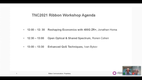 Thumbnail for entry Ribbon workshops on Disruptive