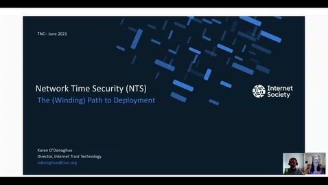 Thumbnail for entry Network Time Security - The (Winding) Path to Deployment