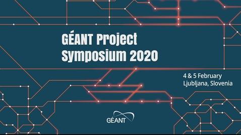 Thumbnail for entry GÈANT Symposium 2020 - Opening Plenary