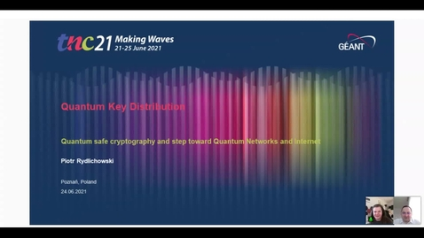 Thumbnail for entry Quantum Key Distribution