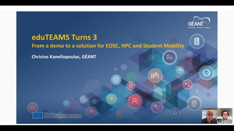 Thumbnail for entry eduTEAMS turns 3: from demo to solution
