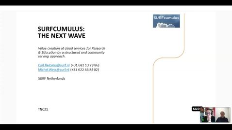 Thumbnail for entry SURFcumulus the Next Wave