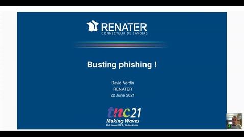 Thumbnail for entry Busting Phishing